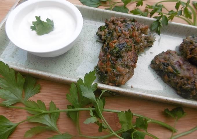 Fried Mushroom Pattie Appetisers