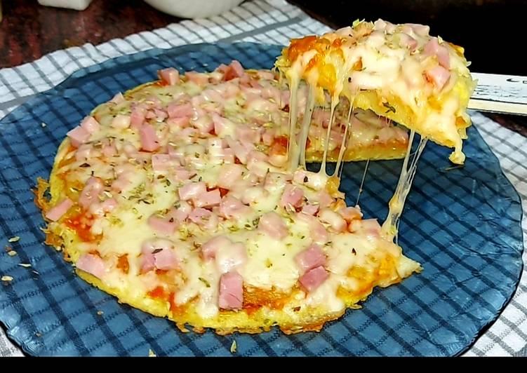 Pizza sin masa a la sartén 😱😍