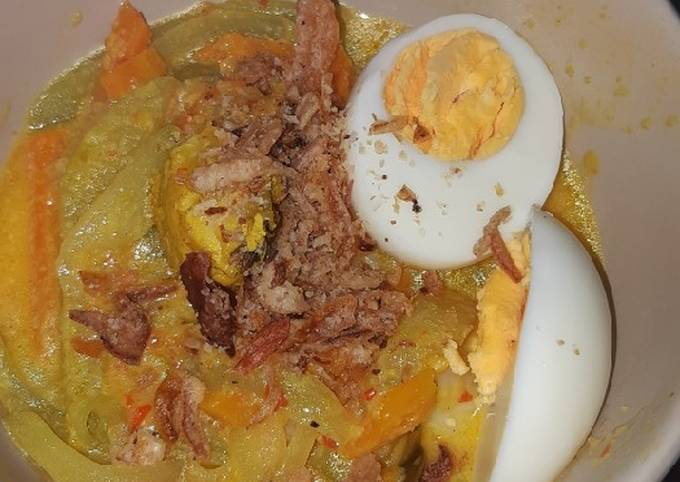 Lontong sayur simple ala saya
