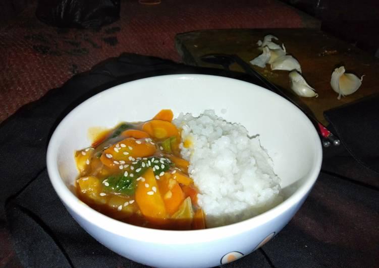 Resep Capcay Super Sehat Ala Korea Oleh Finaira Kara Cookpad
