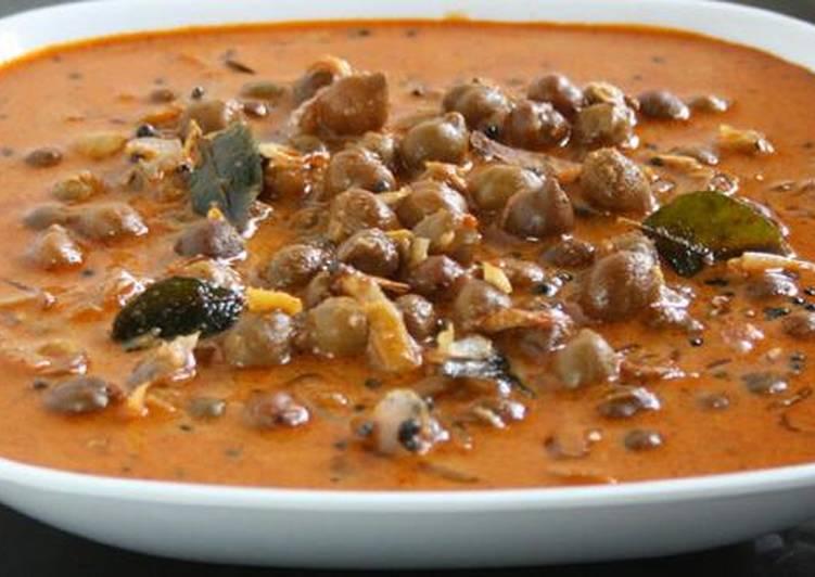 Steps to Make Any night of the week Kadala Curry
