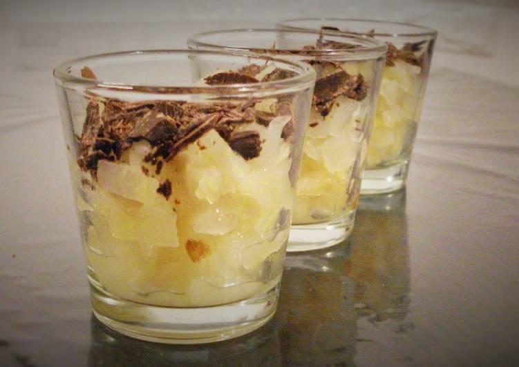 Ricetta Pere allo zenzero e cioccolato