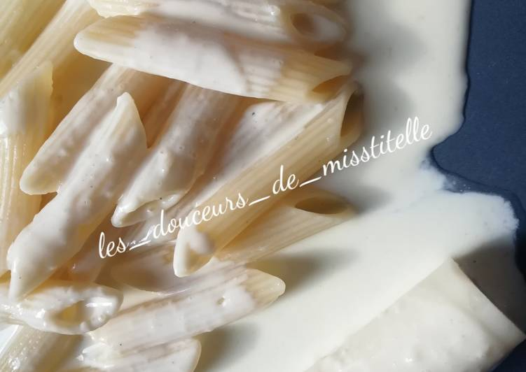 Les Meilleures Recettes de Cœur de palmiers et pennes à la sauce fromage