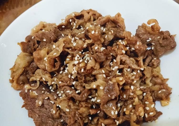 Yoshinoya Beef Teriyaki