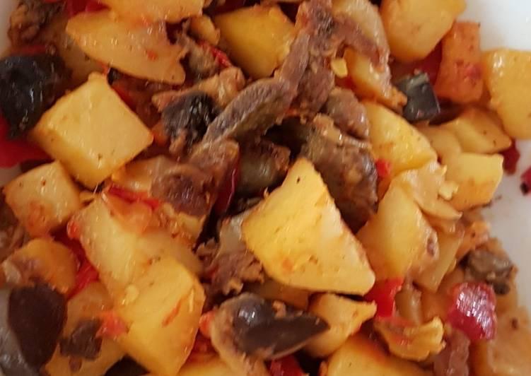 Sambal goreng ati kentang