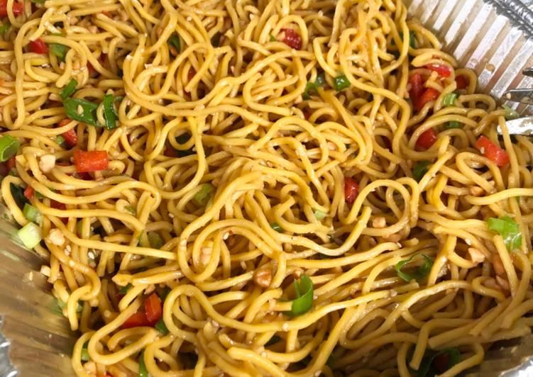 Recipe: Yummy Asian Noodle Salad
