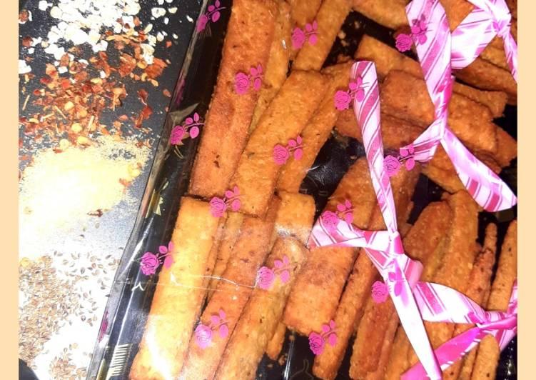 Simple Way to  Oats masala sticks