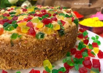 Easiest Way to Recipe Perfect Whole Wheat Tutti Frutti Cake