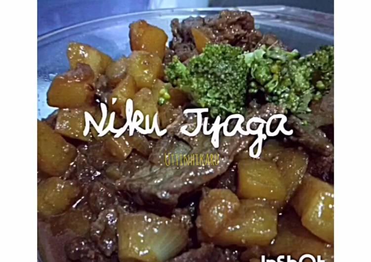 NikuJyaga (Daging Kentang)