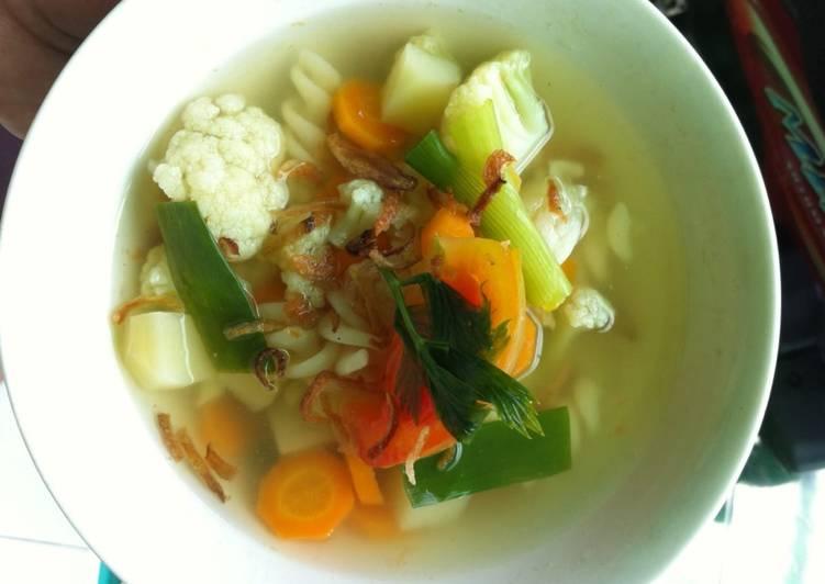 Sayur Sop (tanpa di gongso)