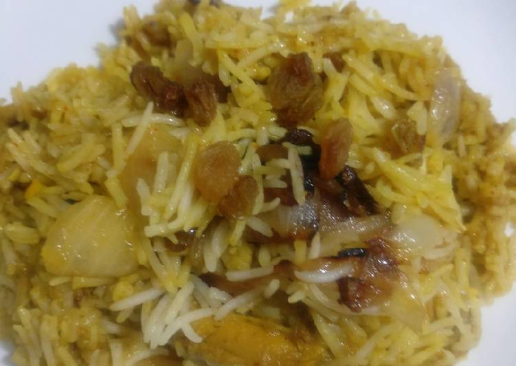 Steps to Make Quick Homemade chicken Biryani