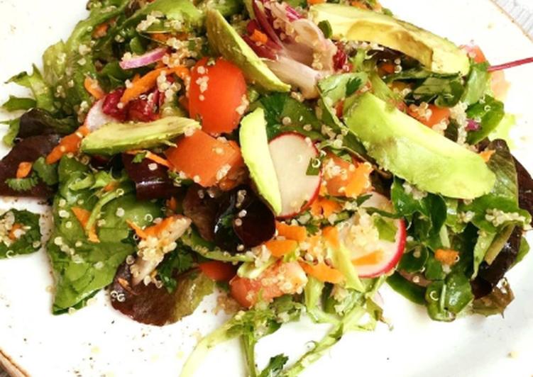 Step-by-Step Guide to Prepare Quinoa healthy salad Recipe Speedy