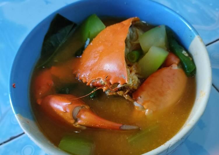 Resep Kepiting sayur asem pedas yang Enak Banget
