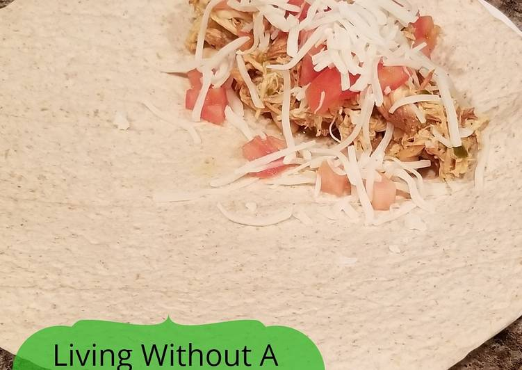 Simple Way to Make Quick Citrus Chicken Burrito