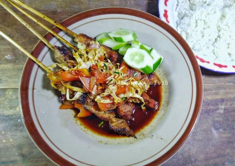 Sate Ayam Teflon Kuah Kecap - cookandrecipe.com