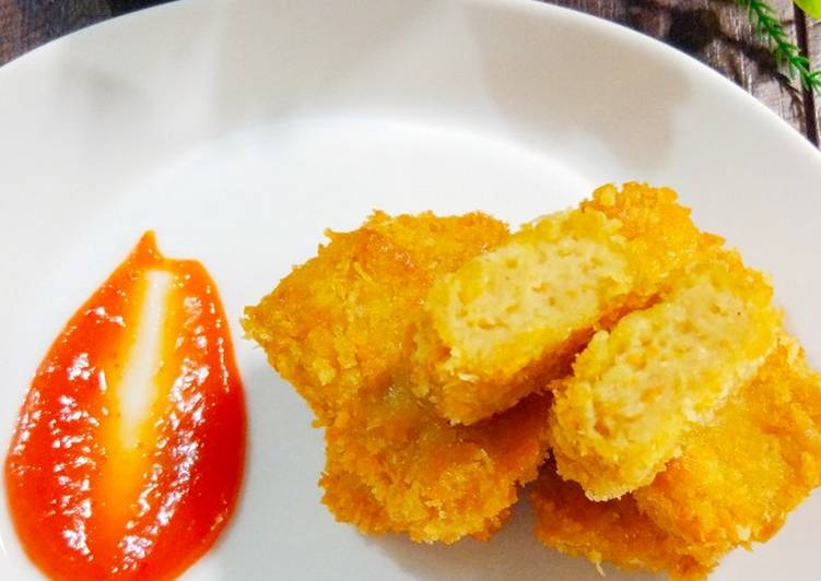 Nugget Jamur Ayam