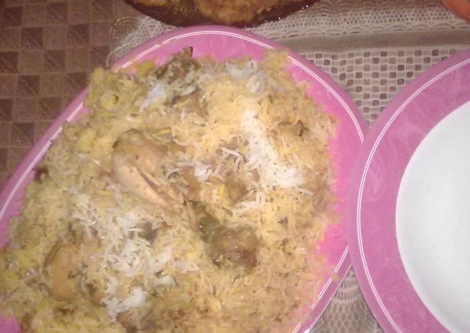 Chicken biryani. #Kokab&Cookpad