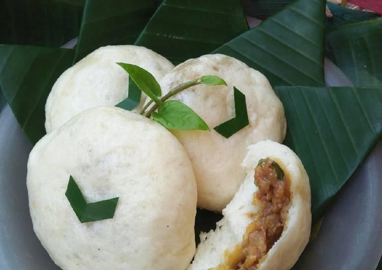 resep cara membuat Pao (bakpao) lembut isi ayam kecap