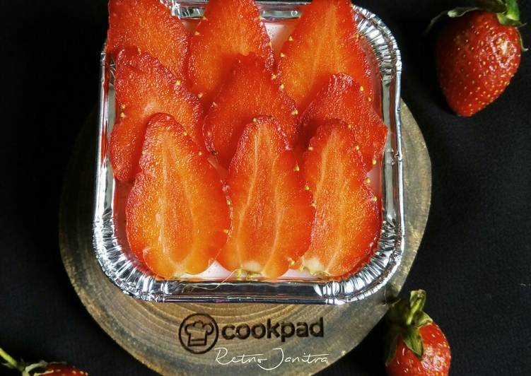 Silky Puding Strawberry
