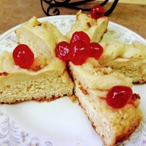 Rosca de Pascua con manzana
