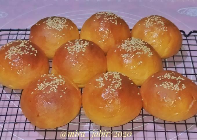 Roti Bun Ubi Jalar