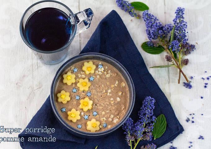 Super porridge à la pomme et amande