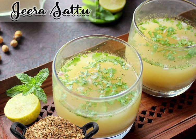 Turn to Food to Boost Your Mood Sattu Sharbat Recipe