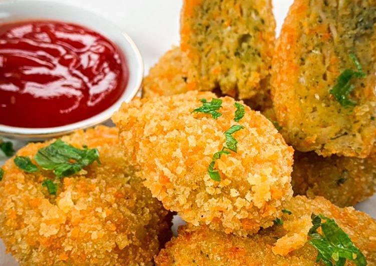 Nugget Ayam Brokoli Wortel
