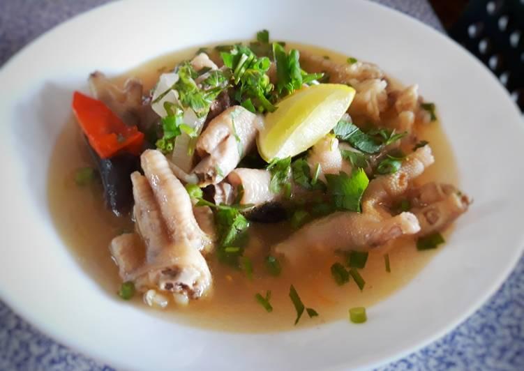Sup kaki Ayam - velavinkabakery.com