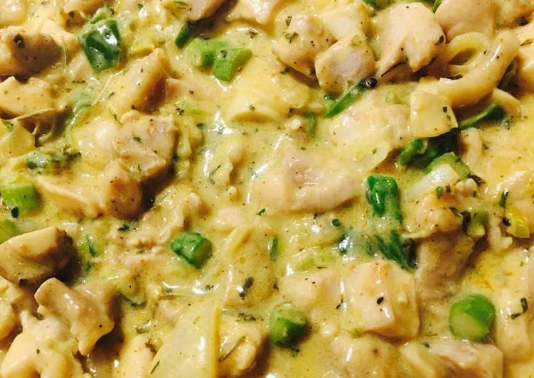 Chicken things Cassarole