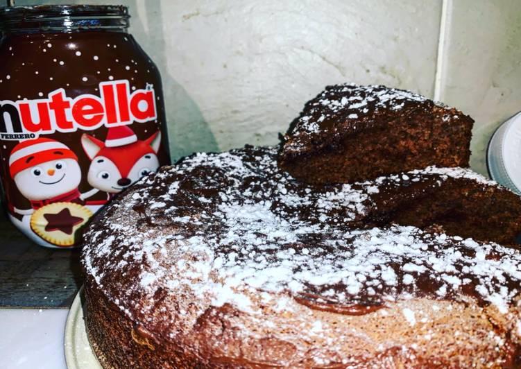 Gâteau au nutella du dimanche cocooning