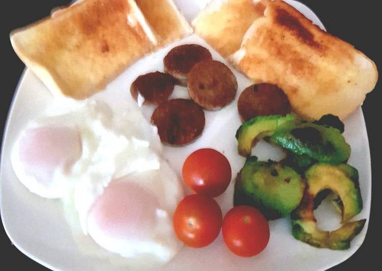 My White Pudding Breakfast. 😀