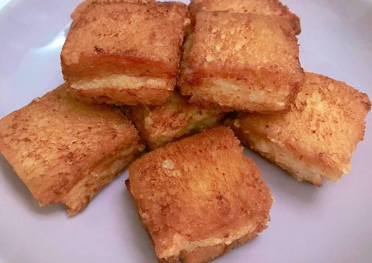 Mian Bao Xia (roti tawar gepit udang)