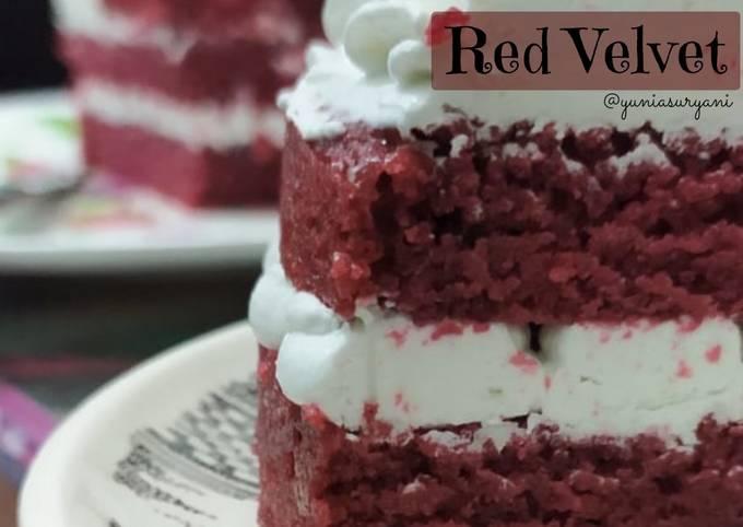 98. Red Velvet (Eggless)
