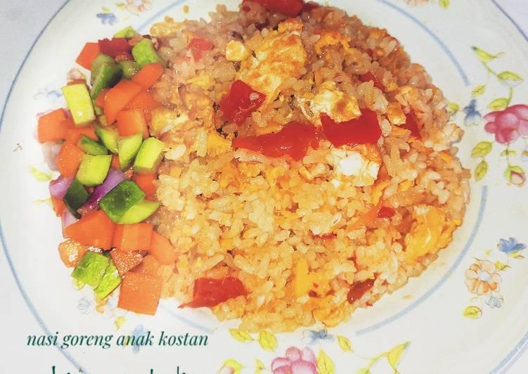 Resep Nasi goreng anak cost'an Paling Mudah