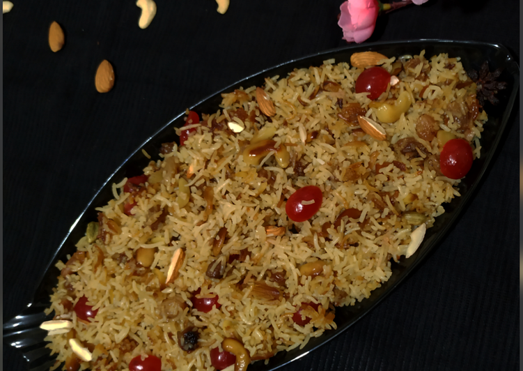 Recipe of Perfect Mitha Pulao