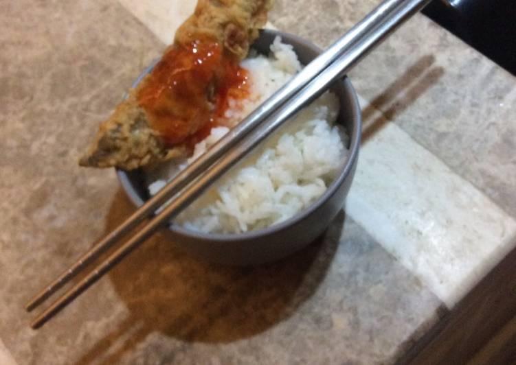 Crispy shisamo