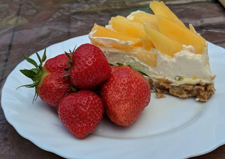 🍰Mango and Passionfruit cheesecake 🍰