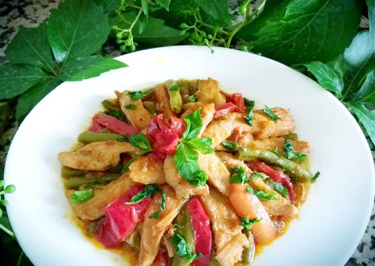 How to Make Delicious Chakchuka with chicken breast