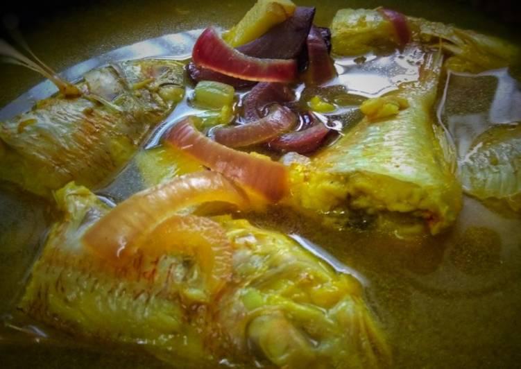 Asam Rebus Ikan Kerisi Sihat