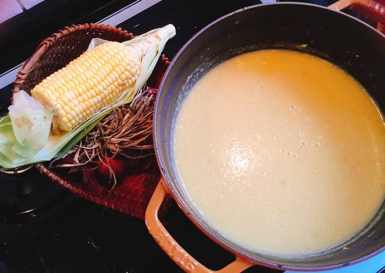 Steps to Make Super Quick Homemade Sweet corn soup