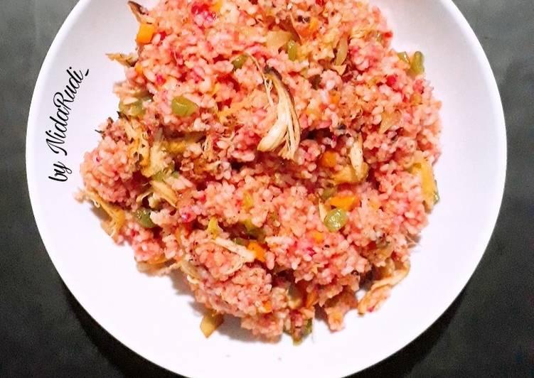 Nasi Goreng Merah khas Surabaya