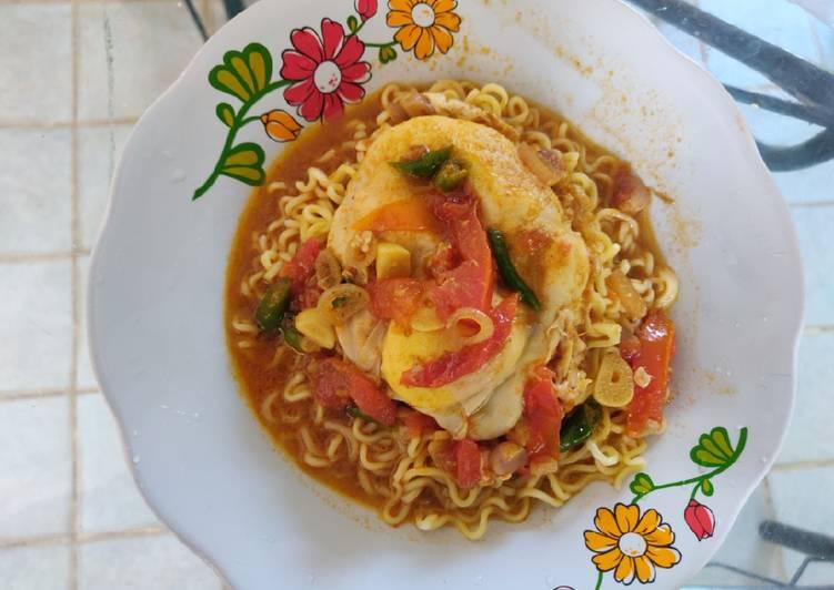 Resep Indomie Kuah Curry Favorit
