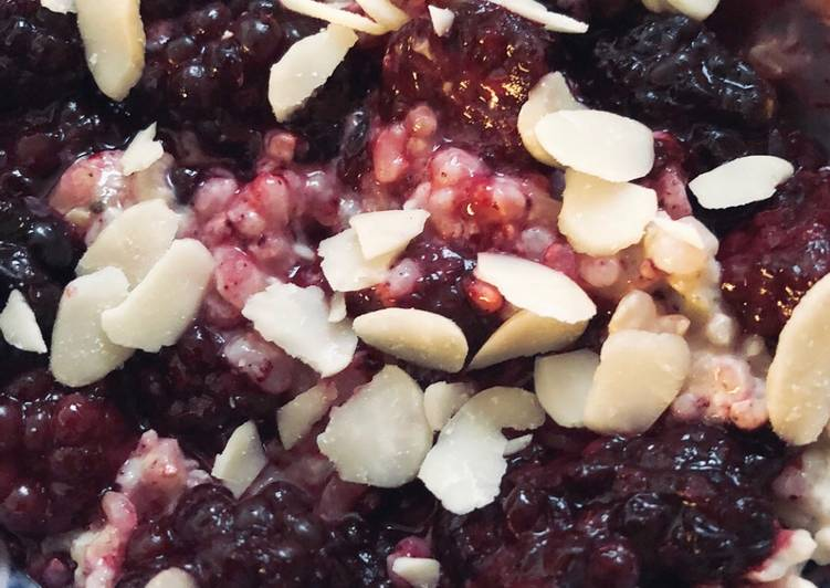 Easiest Way to Prepare Any-night-of-the-week Blackberry and cardamom rice pudding - vegan