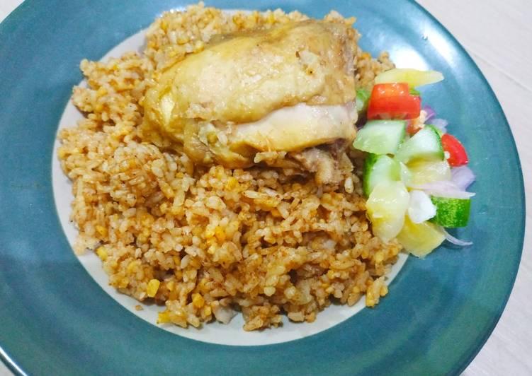 Nasi Kebuli Ayam ala Sasa