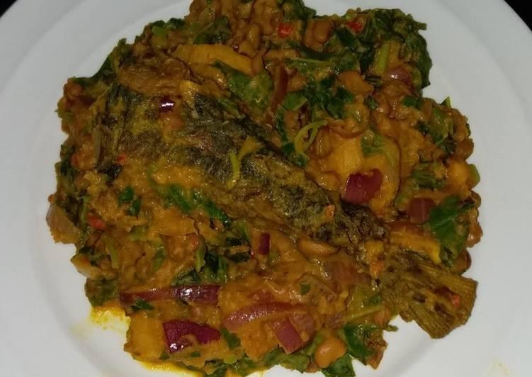 Beans and Plantain Porridge