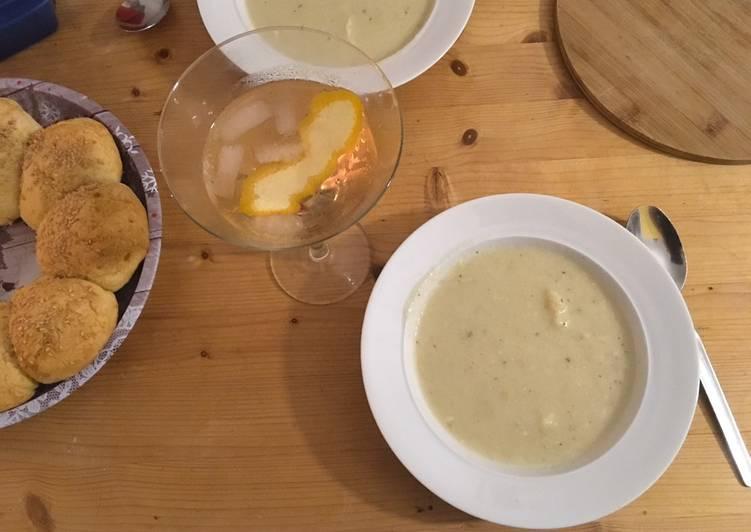 Blumenkohl-Mandel-Suppe