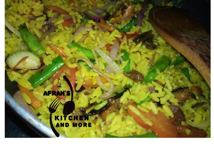 Recipe of Favorite Fish Fried rice