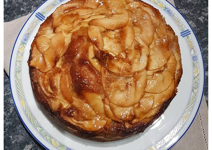 Gâteau Aux Pommes Mascarpone