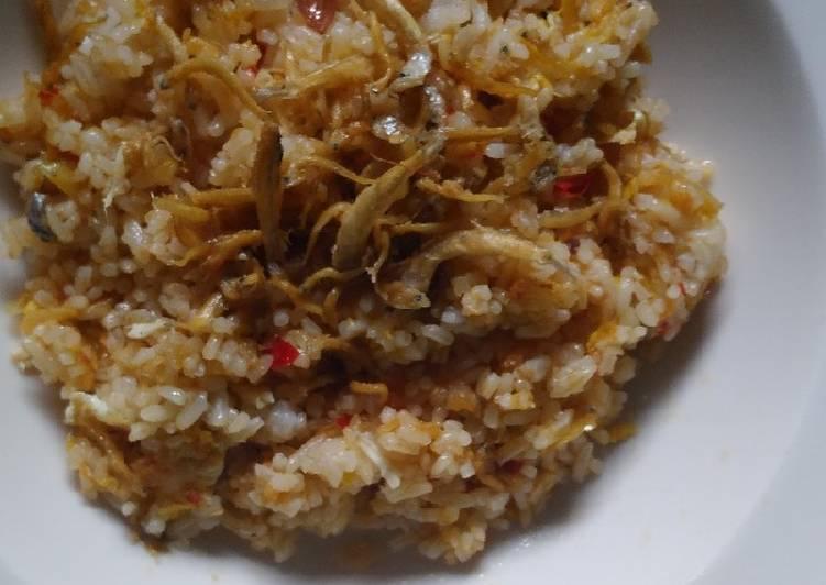 Nasi Goreng Teri Medan Enak dan Mudah